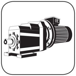 Anfrage Elektromotor Getriebe Bild Icon Stirnradgetriebemotor