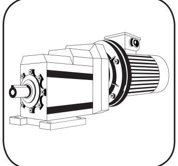 Stirnradgetriebe Anfragedatenblatt, hier das Icon vom Stirnradgetriebemotor