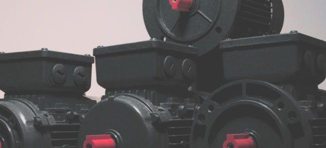 Bauformen Maße im Bild B3 Fußmotor B5 Flanschmotor B14kl Flanschmotor B14gr Flanschmotor, Bildgruppe der Normmotorenbauformen im Anschnitt