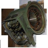 Schiebeankermotor Stator ohne Läufer