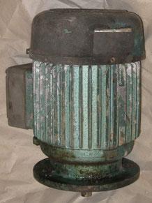 Elektromotor vertikal V1 Bauform mit Sonderflansch