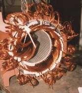 Elektromotor wickeln Statium vorm Verschalten