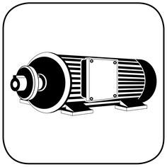 Referenzarbeiten neu wickeln, Sägeflachmotor Holzbearbeitung Icon