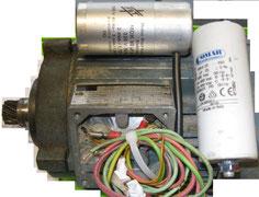 Referenzarbeiten neu wickeln, Wechselstrommotor für Getriebe mit Ritzel