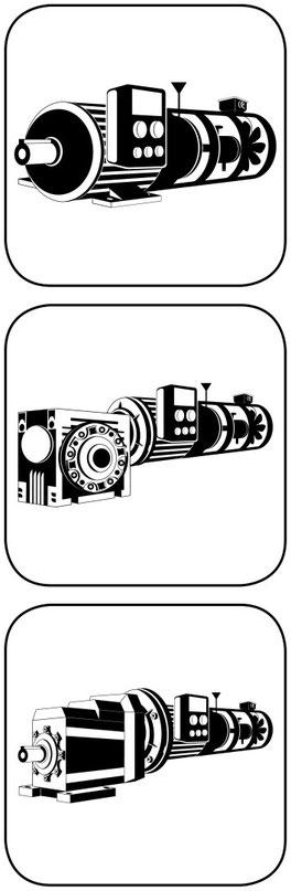 Anschluss für Frequenzumrichter Fremdlüfter und Incrementalgeber und Bremse Anpassungen an Frequenzumrichter
