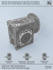 Getriebe Schnecke / Stirnrad