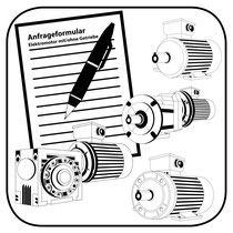Schneckengetriebe Anfragedatenblatt Winkelgetriebe anfragen oder Schneckengetriebe anfragen