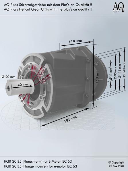 Stirnradgetriebe ohne E Mot Übersicht